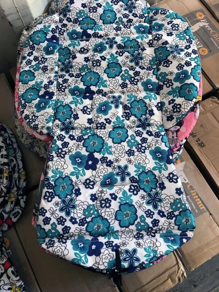 Сменный текстиль для Yoya 175 (голубые цветы)