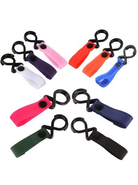 Крючки на коляску для сумок