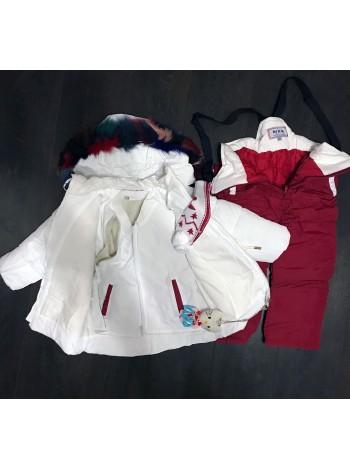 Комбинезон детский белый (тройка)