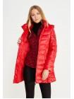 Куртка женская однотонная